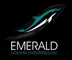 Emerald Dolphin Enterprises Logo
